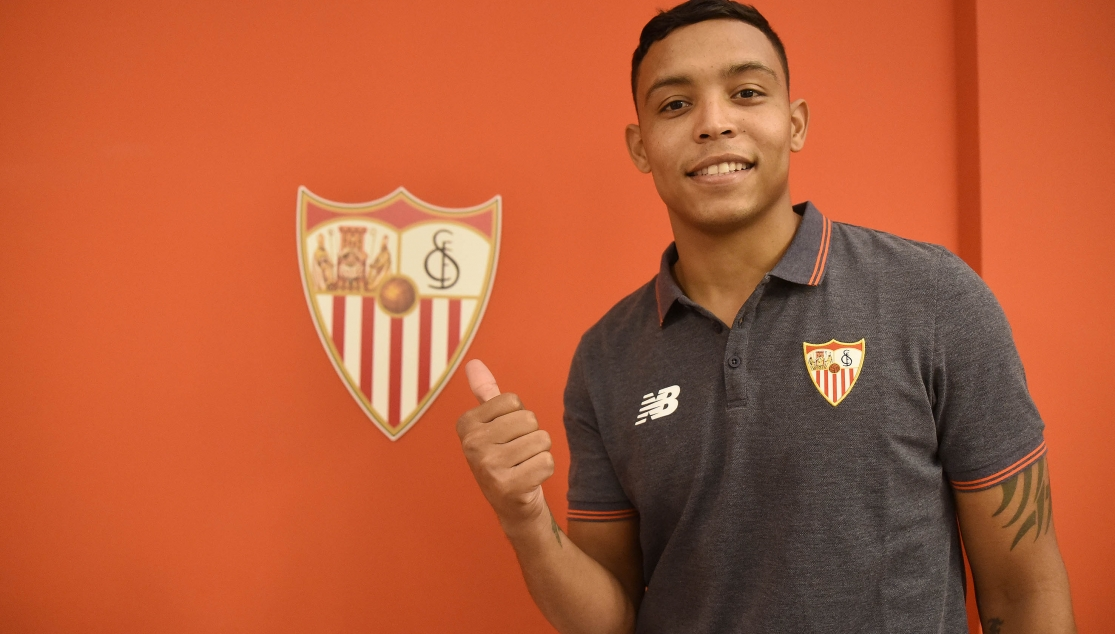 Luis Muriel signs for Sevilla FC