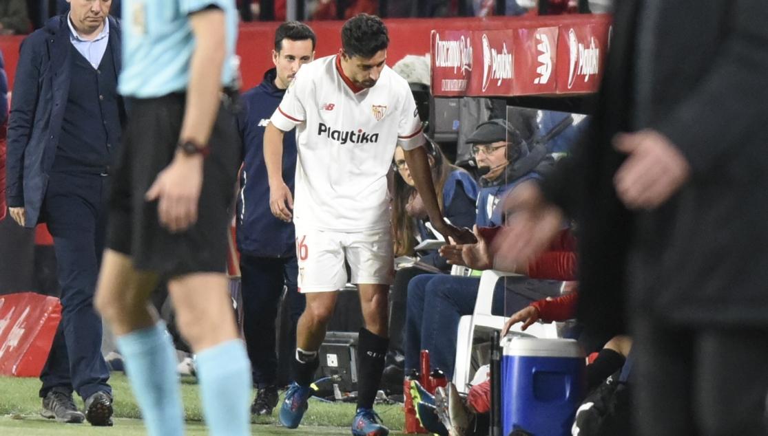 Jesús Navas del Sevilla FC