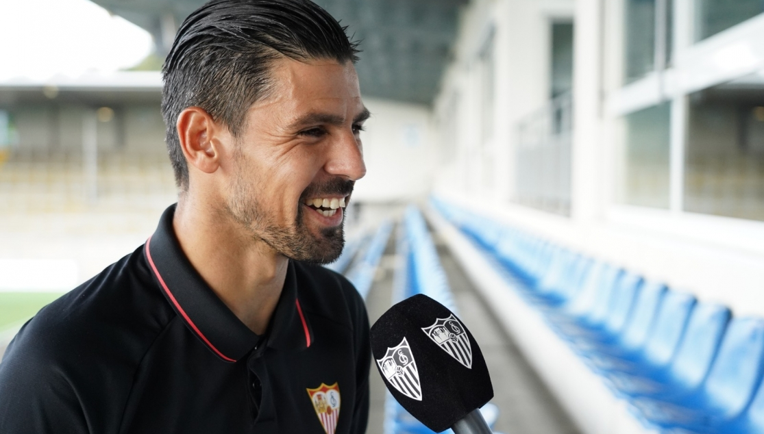 Nolito speaking to official media