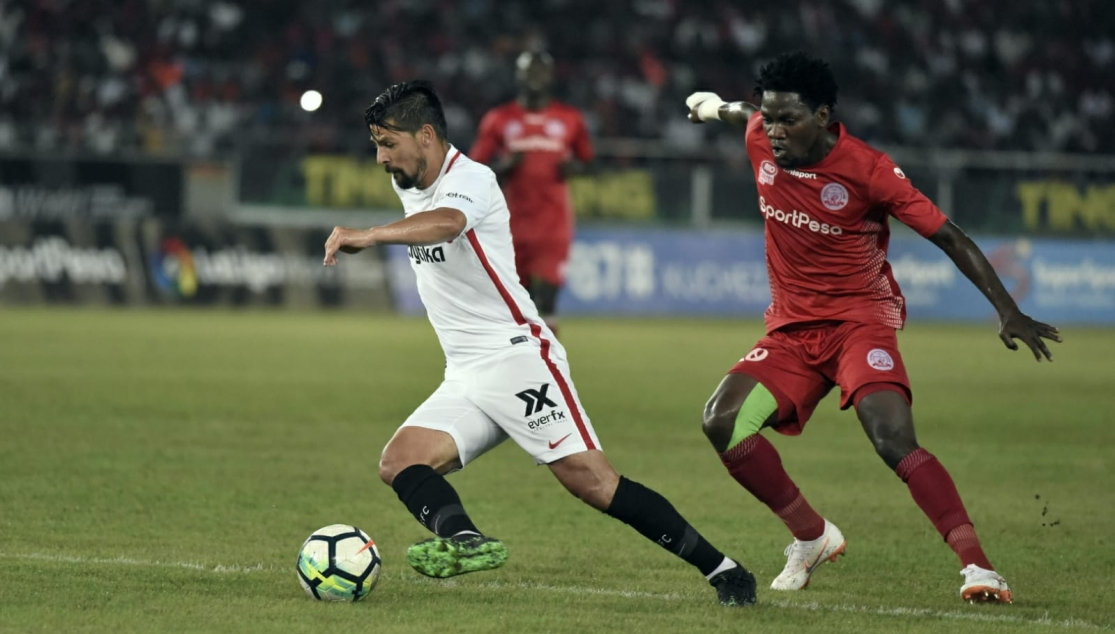 Nolito against Simba SC
