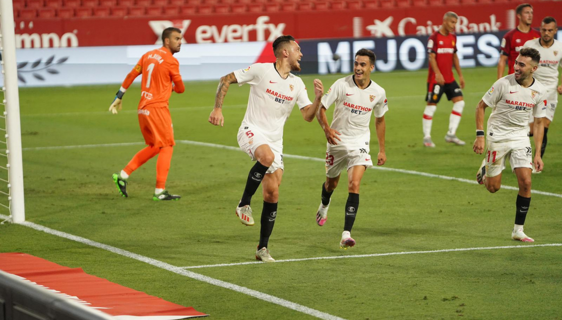 Match Report Sevilla Fc 2 0 Rcd Mallorca Sevilla Fc