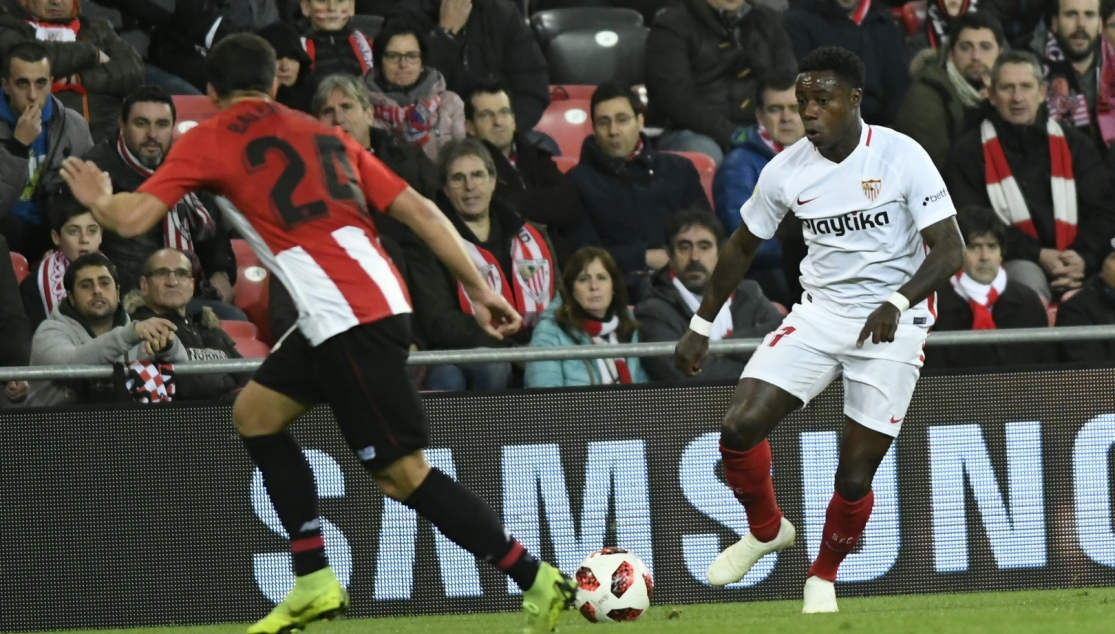 Promes del Sevilla FC ante el Athletic Club