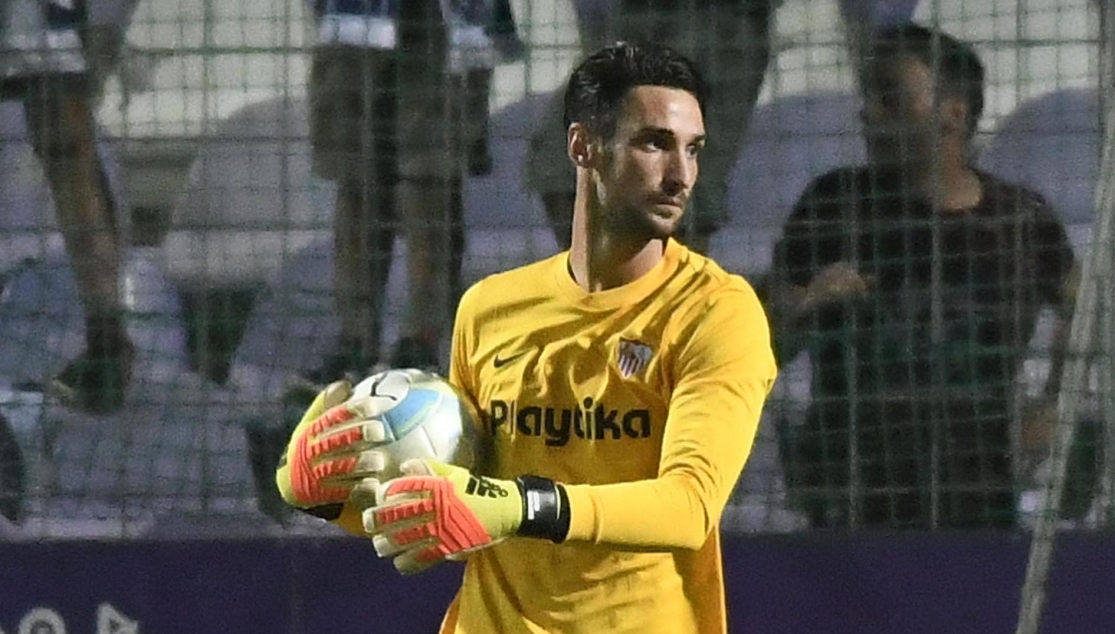 Sergio Rico against Újpest FC