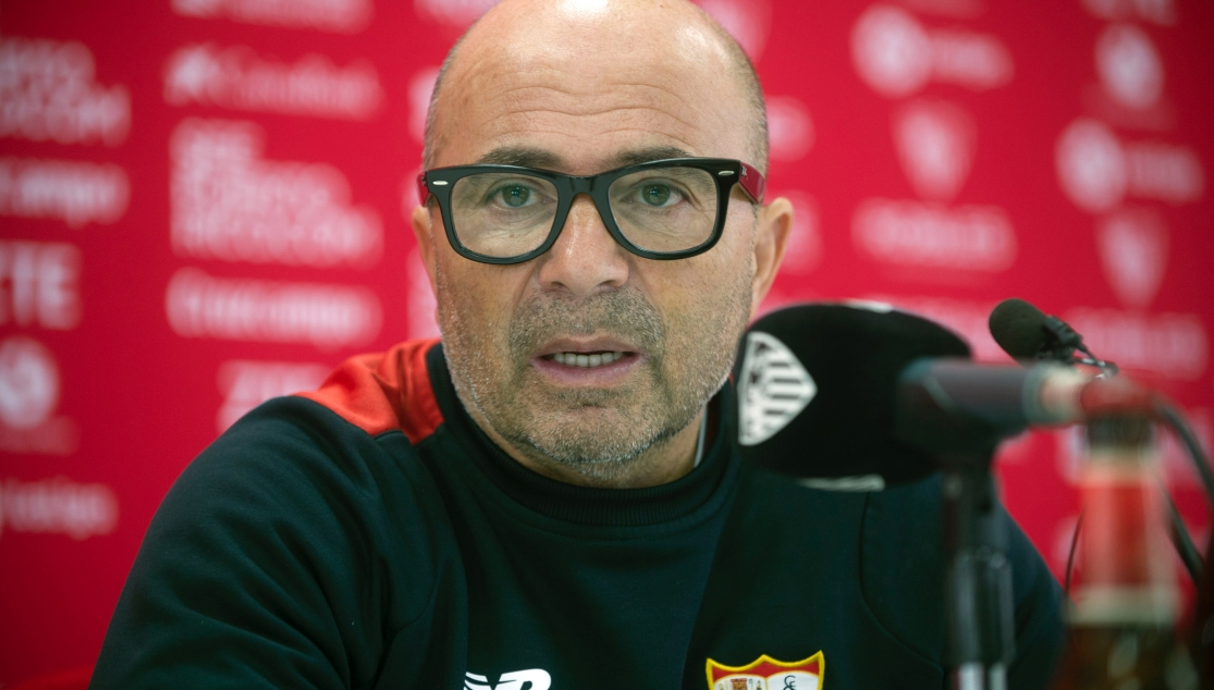 Jorge Sampaoli, técnico del Sevilla FC