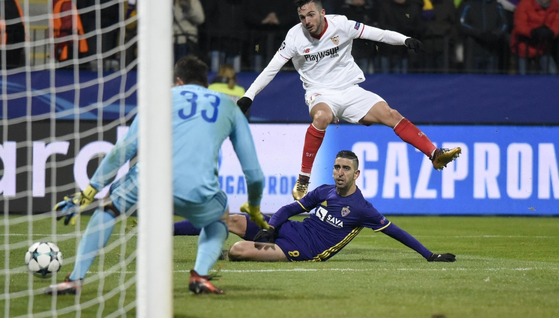 sarabiamaribor CRÓNICA: Maribor 1-1 Sevilla - Comunio-Biwenger