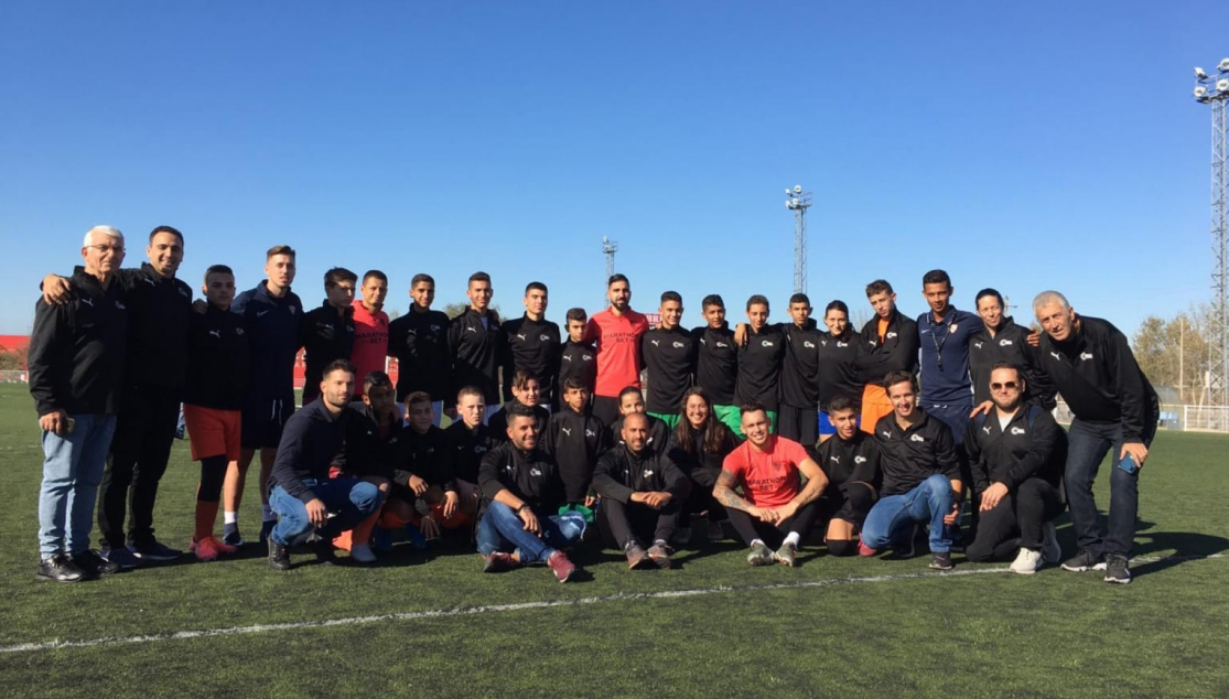 The Israeli footballers took part in a training session at the training ground