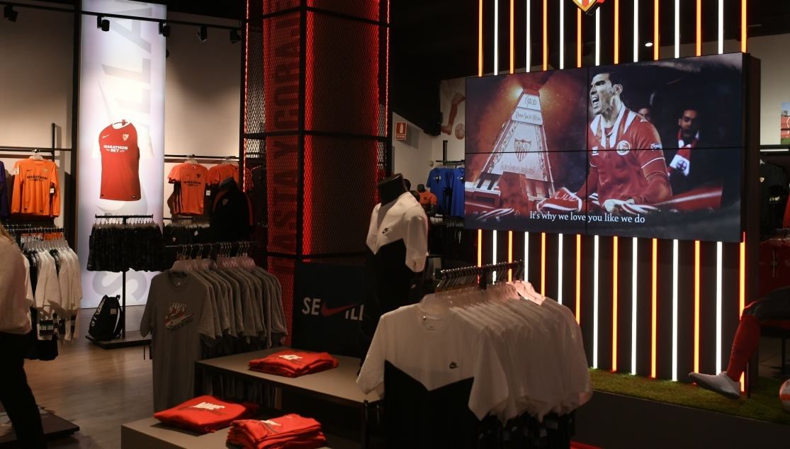 Sevilla FC's official club store