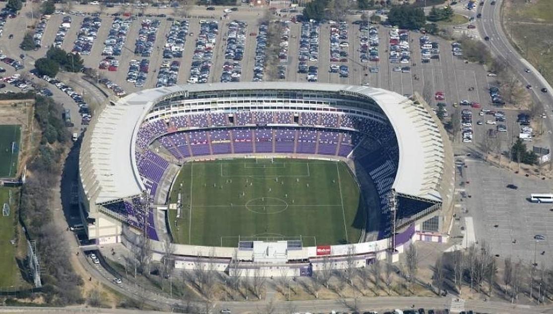 Resultado de imagen de fotos del estadio del nuevo zorrilla