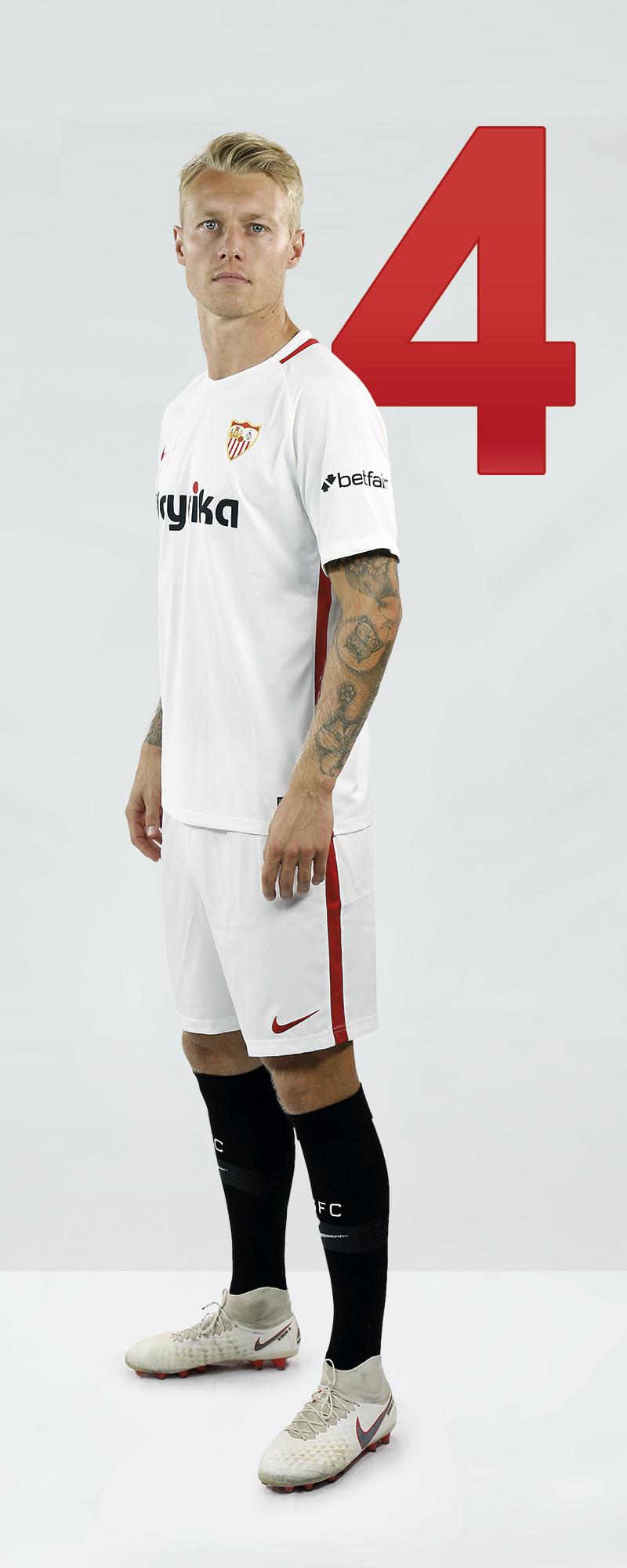 Maillot Domicile Sevilla FC Kjaer