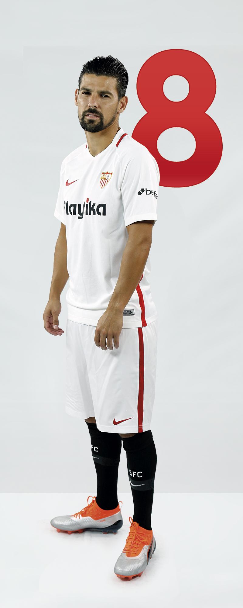 Maillot Domicile Sevilla FC Nolito