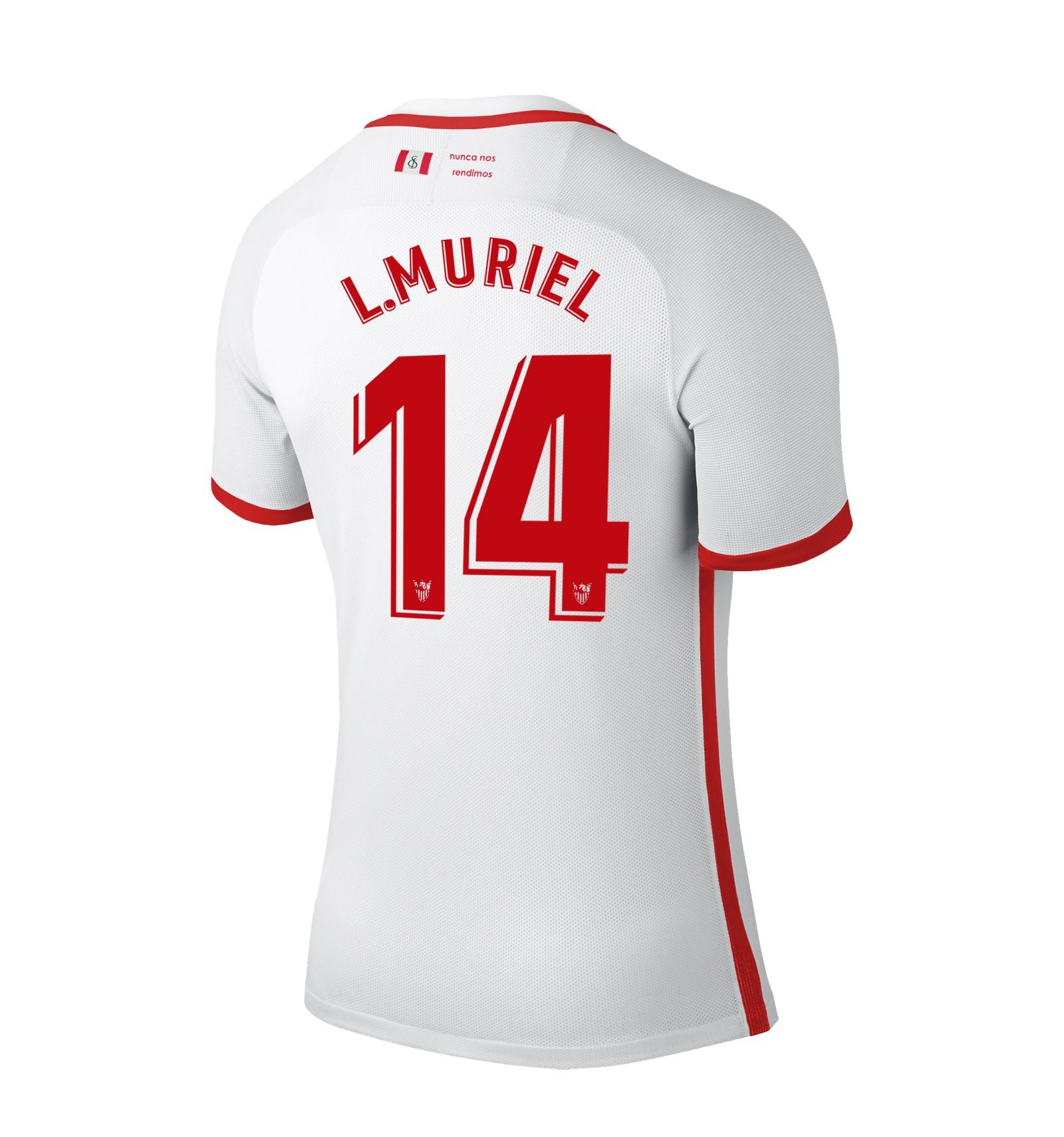 Camiseta Sevilla FC L. Muriel